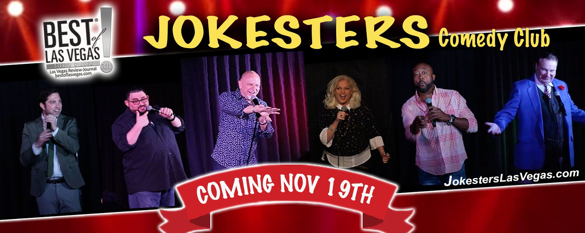 Live Comedy Returns With Jokesters Comedy Club