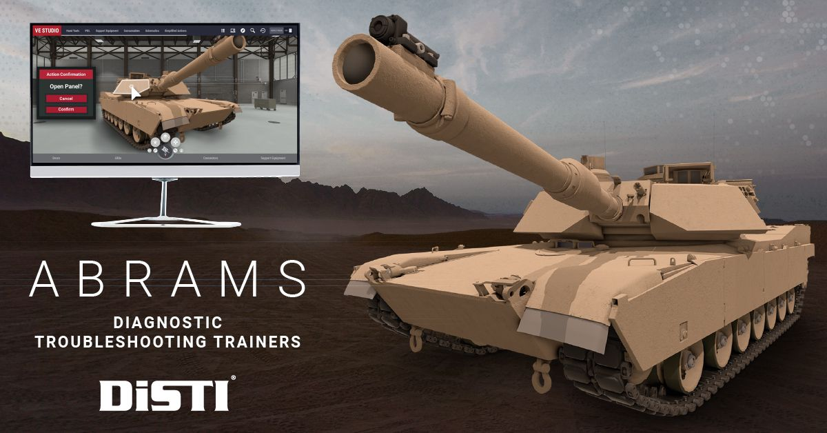 M1 Abrams Diagnostic Troubleshooting Trainer
