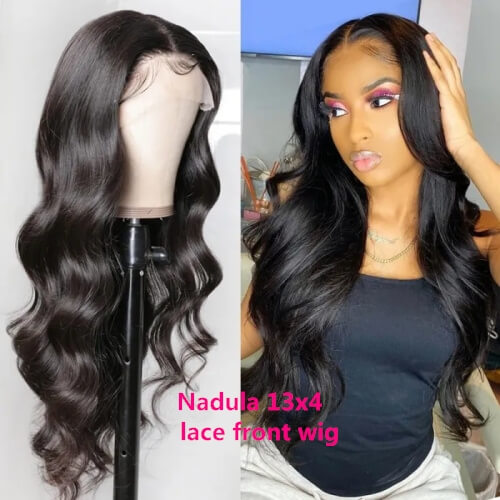 Nadula 13x4 Lace Front Human Hair Wigs With Baby H