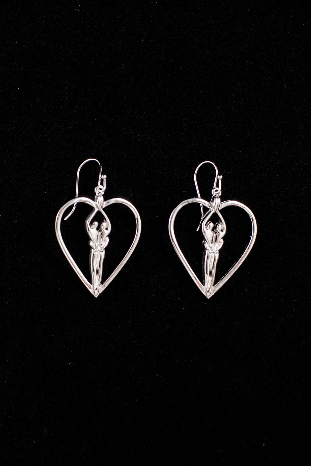 Symbol Of Love Earrings